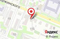 Схема проезда до компании Автоэмали на Дзержинке в Иваново