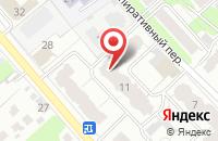 Схема проезда до компании ФЛОРАНС в Иваново