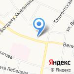 Белорусская обувь на карте Иваново