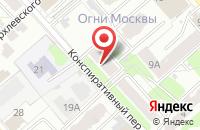 Схема проезда до компании Ателье в Иваново