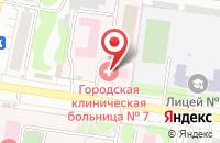 Схема проезда до компании Детская поликлиника №7 в Иваново