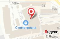 Схема проезда до компании Технолюкс в Костроме