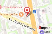 Схема проезда до компании Краса в Иваново
