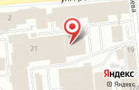 Схема проезда до компании Малина в Иваново