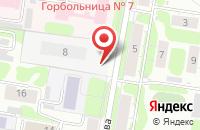 Схема проезда до компании ХимЭкспо в Иваново