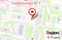 Схема проезда до компании МедиаИмидж в Иваново