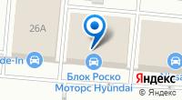 Компания Блок Роско Nissan на карте