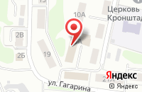 Схема проезда до компании ТВС-Тех в Костроме