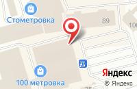 Схема проезда до компании Чайный домик в Костроме