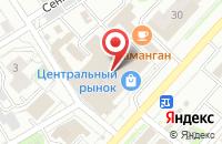 Схема проезда до компании МегаФон в Иваново