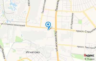 Местоположение на карте пункта техосмотра по адресу г Иваново, ул Станкостроителей, д 2 стр в