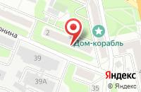 Схема проезда до компании Planet nail в Иваново