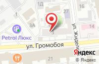 """Схема проезда до компании """" ДИВАНЧИК"""" салон мягкой мебели в Иваново"""