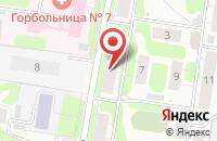 Схема проезда до компании Андрологический кабинет доктора Романова А.А. в Иваново