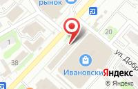 Схема проезда до компании Ника-Мед в Иваново