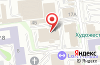 Схема проезда до компании ТИМА в Иваново