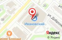 Схема проезда до компании Галант в Иваново