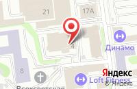 Схема проезда до компании АИР специалист в Иваново