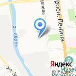 Мастерская творчества на карте Иваново