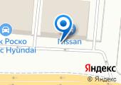 Блок Роско Nissan на карте