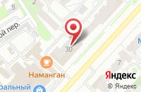 Схема проезда до компании LashRoom в Иваново