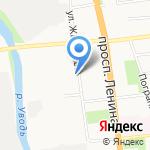 Газпром Межрегионгаз Иваново на карте Иваново
