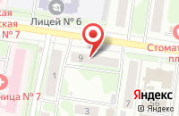Схема проезда до компании Корт в Иваново
