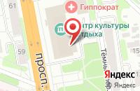 Схема проезда до компании Горячий отдых в Иваново