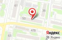 Схема проезда до компании Альфа в Иваново