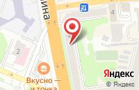 Схема проезда до компании Поделкин в Иваново
