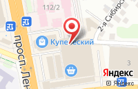 Схема проезда до компании Изюминка в Иваново