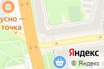 Схема проезда до компании Люкс в Иваново