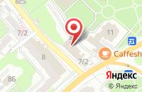 Схема проезда до компании Бизнес Альянс в Иваново