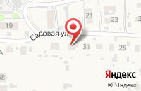Схема проезда до компании Рандеву на Садовой в Иваново
