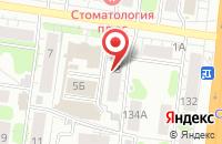 Схема проезда до компании Ладья в Иваново
