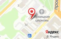 Схема проезда до компании Стройинвест в Иваново