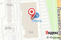 Схема проезда до компании Фарго в Иваново