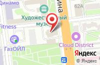 Схема проезда до компании Пятачок в Иваново