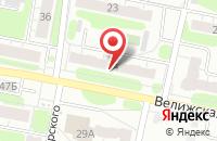 Схема проезда до компании Эдма-М в Иваново