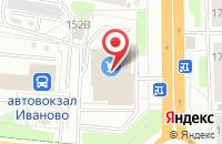 Схема проезда до компании Планета здоровья в Иваново