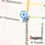 Бюро улетных мероприятий на карте Иваново