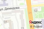 Схема проезда до компании Джемка в Иваново