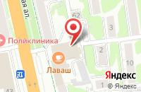 Схема проезда до компании Fusion в Иваново