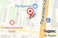 Схема проезда до компании Фотодруг в Иваново