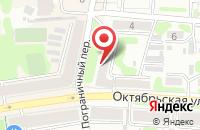Схема проезда до компании Капелла в Иваново