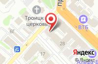 Схема проезда до компании Мелина в Иваново