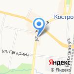 ОкнаПлюс на карте Костромы