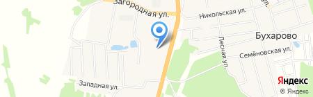 Тойота Центр Иваново на карте Бухарово