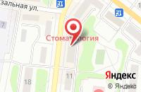 Схема проезда до компании Ват в Костроме