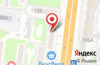 Схема проезда до компании Галактика в Иваново